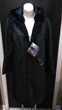 Delta Collection Women's Reversible Wool Coat & Rubber Coat Jacket Sz 8P