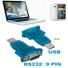 USB 2.0 to RS232 Serial Port DB9 9 Pin Male CH340 Converter Adapter Win7/8/2000