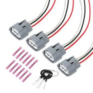 Ignition Coil Wiring Harness Connector Kit For Nissan Altima Sentra,Mazda 4 Set