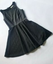Anthropologie The Addison Story Black Fit and Flare Dress Sz XS Petite