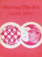 THE YOUNG RASCALS / SHANGRI-LAS 1966 MURRAY THE K'S EASTER SHOW PROGRAM BOOK