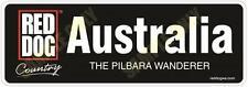 Red Dog Australia - Bumper Sticker