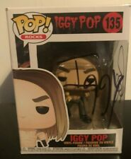 More details for iggy pop  --  hand signed funko pop   --  autographed