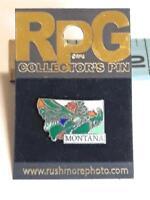 Vtg Montana MT State Travel Lapel Pin Pinback ~ Ships FREE