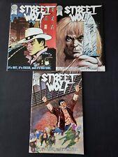 Blackthorne Publishing Street Wolf Full Run (Issues 1-3)