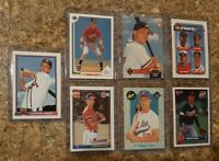 7) Chipper Jones 1991 Bowman Topps Upper Classic Rookie card lot RC 1992 Stadium
