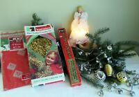 VINTAGE Mid-Century Christmas Décor! Lighted Angel, Garlands, Ornaments & More!