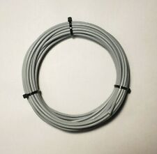 12 Awg Mil Spec Wire Type E Gray Ptfe Stranded Silver Plated Copper 25 Ft
