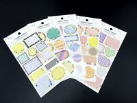 Japan Seal Label Sticker Wedding Giftbag Birthday Gift Tags Envelope Stickers