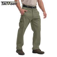 TACVASEN Mens Softshell Tactical Thermal Fleece Pants SKi Outdoor Pants Trousers