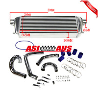 Intercooler+Pipe Kit For Ford Falcon Turbo XR6 BF BA Typhoon FPV F6 G6ET
