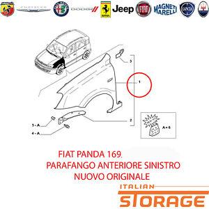 Fiat Panda Kotflügel Vorne Links Neu Original 46827088 71771725