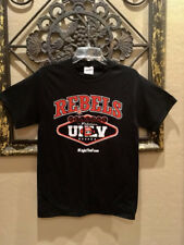 UNLV Runnin' Rebels Official Football Black T-Shirt NWOT size Adult XL