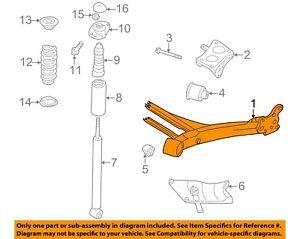 AUDI OEM 00-06 TT Rear Axle-Axle Assy 8N0500051D