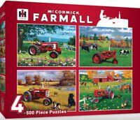 McCormick Farmall 4 x 500 piece jigsaw puzzle 482mm x 355mm  (mpc)