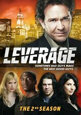 Leverage: The 2nd Season [4 Discs] (2010, REGION 1 DVD New)
