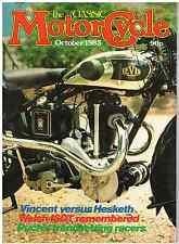 CM 83-10 Vincent Black Prince Hesketh Vampire  Puch BSA C11 Triumph Moto Guzzi
