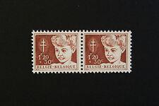 Timbre BELGIQUE  - Stamp BELGIUM Yvert et Tellier n°952 x2 n** (Cyn15)