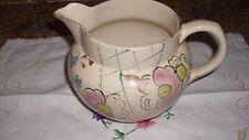 Arthur wood hand painted jug 1920's