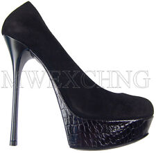 Gianmarco Lorenzi High Heels Stiletto Leather Pumps EU 40 Womens Shoes