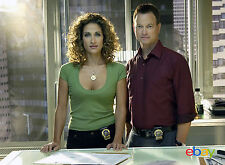 PHOTO LES EXPERTS  MANHATTAN - MELINA KANAKAREDES & GARY SINISE- 11X15 CM #4