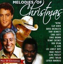 Melodies Of Christmas Men CD Various 2010 Dylan Aiken Elvis Taylor Bennett Botti