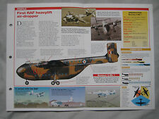 Aircraft of the World Card 110 , Group 4 - Blackburn Beverley