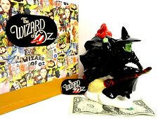 Brand New in Box The Wizard of Oz, Wicked Witch of the East Coin Piggy Bank 7''T