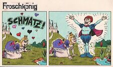 Originalzeichnung MAD Froschkönig Serie Zeichner: Astalos