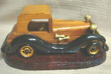 HANDCRAFTED WOODEN MODEL CAR