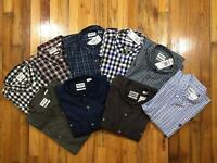 TIMBERLAND MEN'S REGULAR FIT 100% COTTON PLAID SHIRT OXFORD SIZES AND COLORS