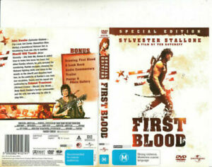 FIRST BLOOD DVD RAMBO 1982 Sylvester Stallone - SPECIAL EDITION - AUST REGION 4