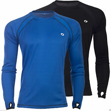 Men's Crew Neck Long Sleeve Polyester Casual Shirts & Tops