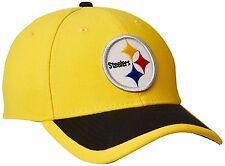 NWT NEW ERA PITTSBURGH STEELERS REVERSE TEAM TRAINING 3930 HAT CAP M/L
