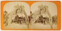 Tergicristallo Su Isola Da Luna Niagara Foto Stereo PL55L4n Vintage Albumina