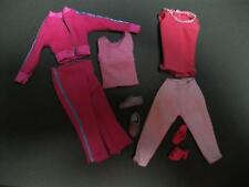 """High School Musical SHARPAY Skipper sz 10.5"""" Doll Clothes/Shoes Lot-PINK SUIT"""