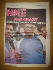NME 1986 JUL 19 RUN DMC ANDY WARHOL CABARET VOLTAIRE