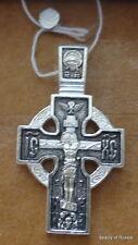 PLATA DE LEY 282m COLGANTE DE CRUZ Consecrated to the Relics of St George 3