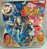 WWF WWE wrestling figures Triple H Steve Austin Ringside Rivals series 2