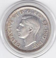 Large   Canada  1939    Dollar   (80%)  Silver   Coin