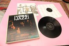 BOX 10LP LA LEGGENDA DEL JAZZ ITALY '70 NM 1 LP CHET BAKER ONLY NUMERATE EDITION