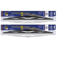 "MERCEDES S CLASS W220 1998-2000 alca windscreen WIPER BLADES 26''24"" LARGE HOOK"