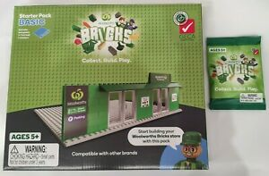 WOOLWORTHS BRICKS STARTER BASIC PACK KIT - LEGO COMPATIBLE COLLECTABLES NEW