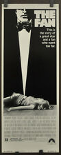 THE FAN 1981 ORIGINAL 14X36 MOVIE POSTER LAUREN BACALL JAMES GARNER