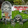 Life-Size Lawn Skeleton Yard Halloween Decoration - Home Decor