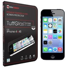 CENITOUCH® - Original Tempered Glass Screen Protector Film for iPhone 4 / 4S