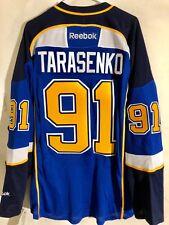 Reebok Premier NHL Jersey St. Louis Blues Vladimir Tarasenko Yelo LNS Blue sz S