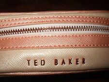 TED BAKER Jewellery Case. Soft, 'Rose Gold'.