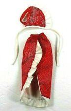 Barbie Vintage 1980's Gown Red & White Dots #4821 Twice As Nice Superstar Era