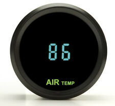 Dakota Digital Round Outside Ambient Air Temperature Gauge Teal ODYR-14-1 New